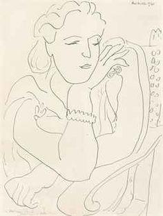 Henri Matisse (1869-1954) | Monique | IMPRESSIONIST & MODERN ART ...