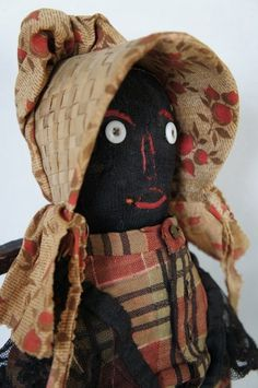 Antique Black Americana Cloth Doll.
