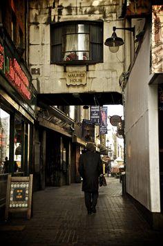 Soho Entrance. London.