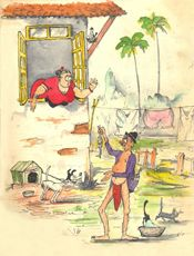 Indian Artist Cartoonist and Illustrator Mario de Miranda Sketches Of People, Art Sketches, Cartoon Drawings, Cartoon Art, Mario Miranda, Indian Artist, Painting Lessons, Elements Of Art, Online Art Gallery