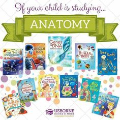 Kids love to learn about the Human body which is why Usborne Books & More provide books on the topic for all ages ! https://h5866.myubam.com/715353