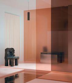 "Glance Inside Studio Brasch's Dreamy Creative Space: ""A Lucid Dream in Pink. Best Interior Design Websites, 3d Interior Design, Commercial Interior Design, Commercial Interiors, Interior Architecture, Interior And Exterior, Exterior Doors, Interior Natural, Design Apartment"