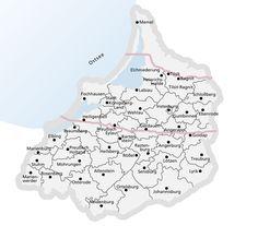 Ostpreußen Karte