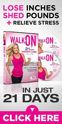 Burn fat + build fitness by walking!