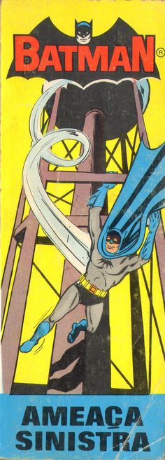 Cover for Heróis Juvenis - Série Batman (Editorial Bruguera, 1968 series) #2