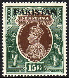 1947 Pakistan stamp