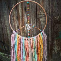 Spiritual Decor, Dream Catcher Boho, Hippie Art, Moon Art, Grateful Dead, Retro Art, Czech Glass Beads, Peace And Love, Etsy Shop