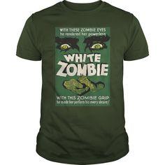 (Top Tshirt Charts) White Zombie Movie Poster [Tshirt design] Hoodies, Funny Tee Shirts