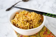 Chow Mein Noodles with Chicken will be your new favorite homemade takeout food. You'll never need to order in again!