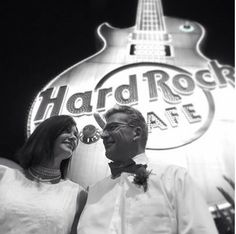 www.lasvegasweddingwagon.com  Las Vegas Wedding Wagon Photo of the Day;  We stumbled across this pic tonight whilst archiving and just fell in love with it! Our beautiful couple looking lovingly at each other during their Wedding Wagon ceremony below the Hard Rock Hotel sign at night.   Rock On!  #lasvegasweddingwagon #weddingwagon #vegaswedding #lasvegaswedding #vegasbaby #lasvegas #wedding #weddingday #bride #welcometofabulouslasvegas #Hardrockhotel