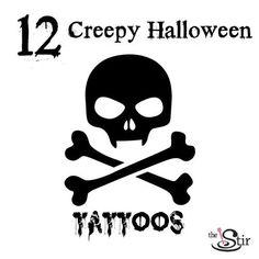 WooOOOooo -- Halloween tattoos!