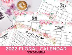 Floral Calendar 2022 Landscape September Calendar, Calendar 2020, Beautiful Flower Designs, Beautiful Flowers, Holidays In September, December, Words Of Appreciation, Cool Gadgets To Buy, Free Printables