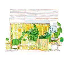 tofu shop by Tatsuro Kiuchi
