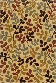 Amelia Collection Tan And Multi Color Fl Area Rug Sphinx By Oriental Weavers Rugs