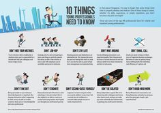 10 Things Young Professionals Should Know #infographic