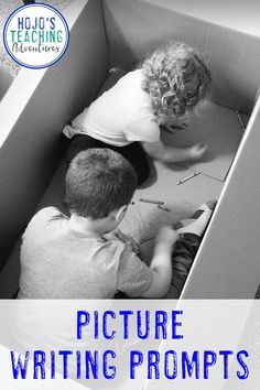 Learn how to use picture writing prompts to keep elementary students engaged, writing, and having fun with the great ideas and suggestions here. Picture Writing Prompts, Writing Ideas, Upper Elementary Resources, Literacy Centers, Special Education, Middle School, Homeschool, Classroom, Year 2