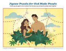 God Made People Jigsaw Puzzle