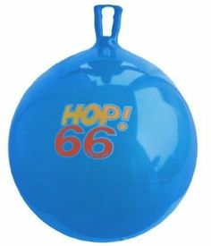 Adult bouncy ball!!! Super fun!! Amazon.com: Gymnic / Hop-66 26 Hop Ball, Blue: Toys & Games