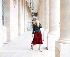 Palais Royal Paris / In my ballerines