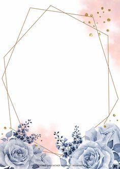 Wedding Invitation Background, Wedding Background, Floral Invitation, Wedding Invitations, Flower Background Wallpaper, Flower Phone Wallpaper, Flower Backgrounds, Floral Backround, Frame Floral