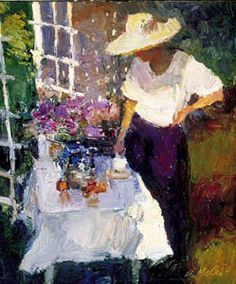 Violets Reflection by Dan McCaw