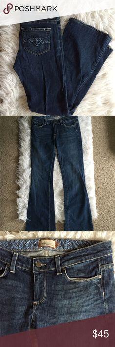 • ραιgє • Cute! Great condition • style is Hollywood hills • Cotton and Lycra. 👺NO TRADES DONT ASK! ✌🏼️Transactions through posh only!  😻 friendly home 💃🏼 if you ask a question about an item, please be ready to purchase (serious buyers only) ❤️Color may vary in person! 💗⭐️Bundles of 5+ LISTINGS are 5️⃣0️⃣% off! ⭐️buyer pays extra shipping if likely to be over 5 lbs 🙋thanks for looking! PAIGE Jeans