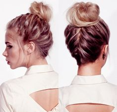 HAIR HOW TO: Headmasters' Braided Wedding Knot