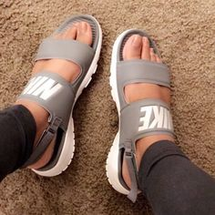 new style 0d105 1b7f8 Nike Slides, Sock Shoes, Cute Shoes, Me Too Shoes, Shoe Boots,
