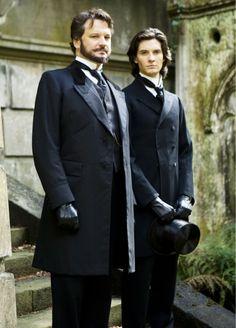 Colin Firth & Ben Barnes in 'Dorian Gray' (2009).