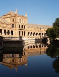 Seville certainly is one of the most beloved places by visitors to Spain. Although today Moorish influence is architectonically most evident - Andalusia was occupied by Moors for about 800 years - it has been a cultural center long before.