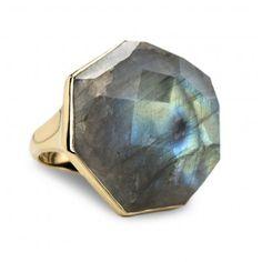 Ippolita: Large Septagon Ring in Labradorite