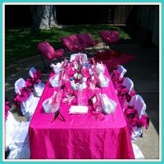Party Table Decoration Ideas for little girls | Table decoration