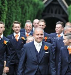 Edgson & co A pleasure to deal with.  #groom #tails #suit #wedding #navy