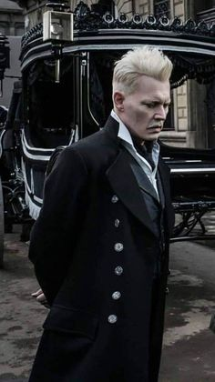Johnny Depp as Grindelwald Harry Potter Anime, Harry Potter Characters, Harry Potter World, Johnny Depp Characters, Johnny Depp Movies, Fantastic Beasts Movie, Fantastic Beasts And Where, Hogwarts, Slytherin