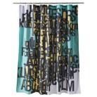 "Room Essentials® Words Shower Curtain - 72x72""...for boy's bathroom?"