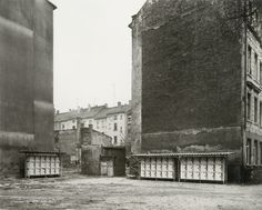 Thomas Struth B.1954 'WILHELMINENSTRASSE, LEIPZIG', 1991 SILVER PRINT. SIGNED IN PENCIL ON AN ARTIST'S LABEL. ED. 3/10 (image 17 ¼ x 21 ½ in., frame 26  3/8  x 33 ½ in City Landscape, Slums, Historical Photos, Impressionist, Street Photography, Modern Art, Urban, Modernism, Architecture