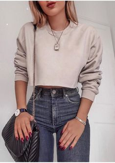 21 Long Sleeve Tops Trending Now Luxe Fashion New Trends Fashion Ideas Ropa de moda Moda de ropa Ropa tumblr