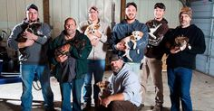 Stray Dog Leads Partying Bachelor Guys To Her 7 Newborns, They Adopt Them All | Bored Panda