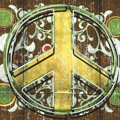 Peace 2 (sign).  Anthony Ross.