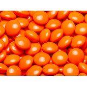 Orange Milk Chocolate Lentils: 5LB Bag