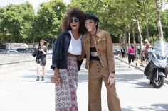 The Best of The Impression's Paris Couture Fashion Week Models Off-Duty Street Style Fall 2017 - Day 2
