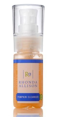 Rhonda Allison Pumpkin Cleanser - Art of Skin Care $32... my new cleanser