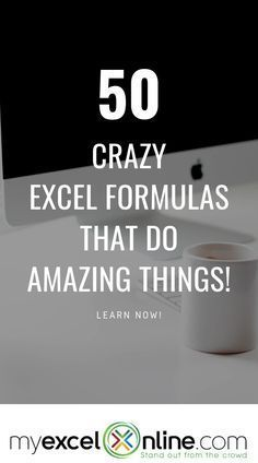 50 Crazy Excel Formulas That Do Amazing Things Computer Help, Computer Programming, Computer Science, Computer Tips, Computer Lessons, Learn Programming, Marketing Logo, Affiliate Marketing, Excel Tips