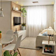 How To Use A Living Room Sofa For Maximum Space Utilization? Condo Interior, Small Living Room Decor, Interior Design Living Room, Home, Small Room Design, Small Apartment Living, Small Apartment Living Room, Living Room Decor Apartment, Room Design