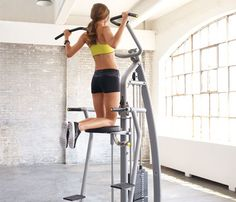 Article on some great machines to try out- I love the pull-up machine, but I have approximately zero arm strength.