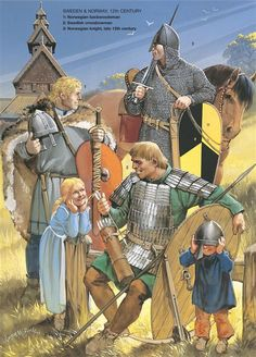 Medieval Scandinavian Armies - Sweden and Norway, 12th Century. Osprey Publishing