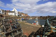 Crail in the East Neuk of Fife.