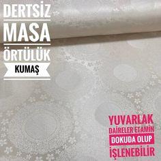 Daireler Dertsiz Masa Örtülük Kumaş isimli ürünümüzü sitemizden satın alabilirsiniz.En 160 cm metreleri 11  5 renk seçeneği #intaslar #kumaş #masaörtüsü #masaörtülük #dertsizkumaş
