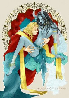Thor rescuing Loki