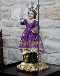 Niño Jesús Pasionario. Anónimo s. XVIII.